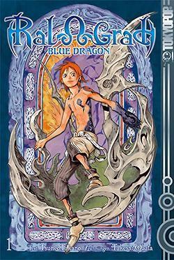 Blue Dragon Ral Grad (Tokyopop, Tb.) Nr. 1-4 kpl. (Z0-2)