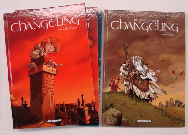 Legende vom Changeling (Piredda, B.) Nr. 1-4 zus. (Z1)
