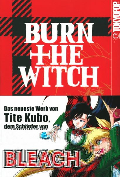Burn the Witch (Tokyopop, Tb.) Nr. 1