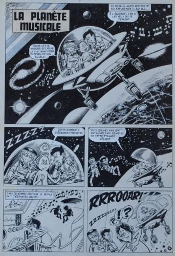 Originalzeichnung (0304) Kiko-2000 6 Seiten zus.