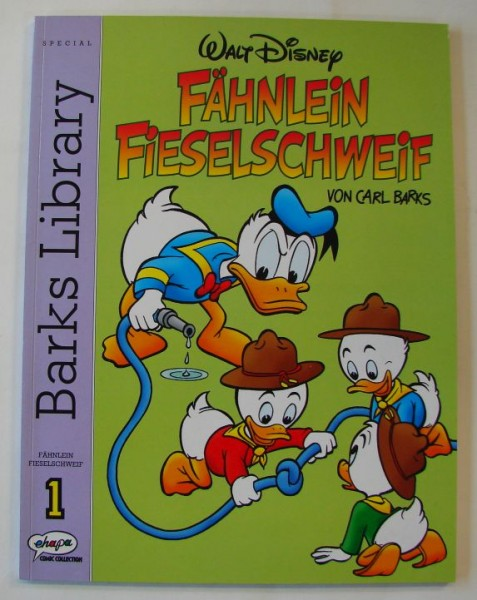 Barks Library Special (Ehapa, Br.) Fähnlein Fieselschweif Nr. 1-7 kpl. (Z1)