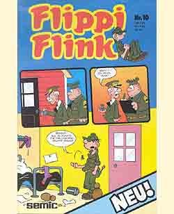Flippi Flink (Semic, Gb.) Jhrg. 1983 Nr. 10-12