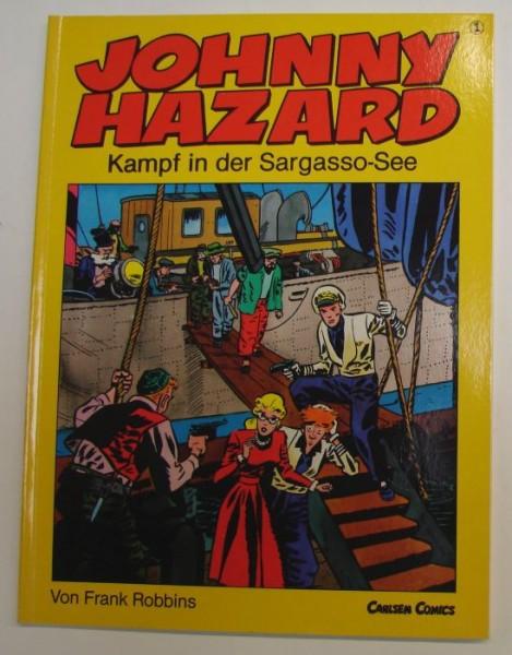 Johnny Hazard (Carlsen, Br.) Nr. 1-6 kpl. (Z1-2)