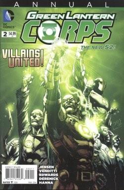 Green Lantern Corps (2011) Annual 1,2