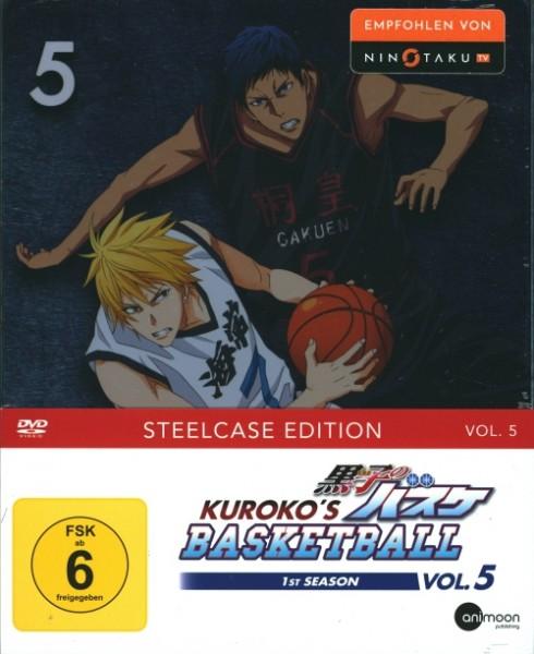 Kuroko's Basketball 1st Season Vol. 5 DVD