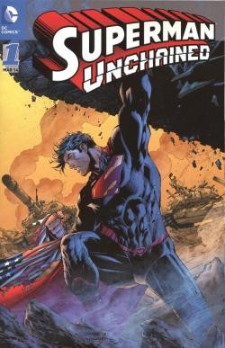 Superman Unchained 1 Variant 1