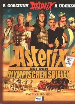 Asterix bei den Olympischen Spielen (Ehapa, B.) Hardcover Buch zum Film