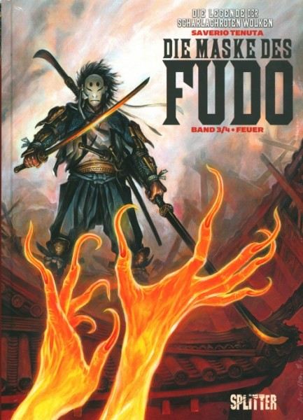 Legende der scharlachroten Wolken (Splitter, B.) Maske des Fudo Nr. 3