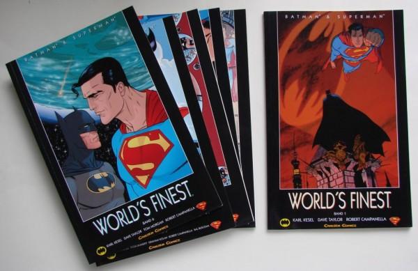 Batman & Superman (Carlsen, Br.) World's Finest Nr. 1-6 kpl. (Z1)