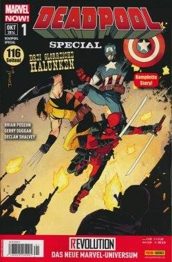 Deadpool Special (Panini, Gb.) Nr. 1-9 kpl. (Z1)