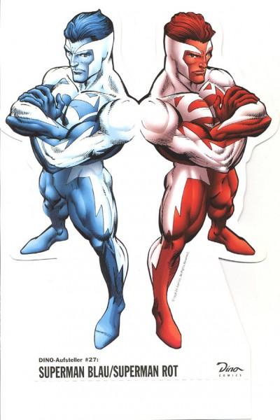 Dino-Aufsteller (Dino) 27 Superman Blau/Superman Rot