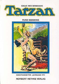 Tarzan Sonntagsseiten 1970