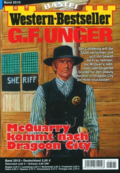 Western-Bestseller G.F. Unger 2515