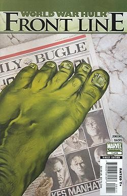 World War Hulk Frontline 1-6