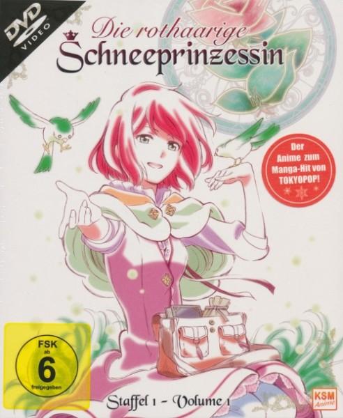 Die rothaarige Schneeprinzessin Staffel 1 Vol. 1 DVD