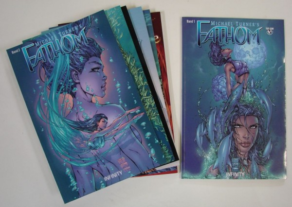 Fathom (Infinity, Br) Nr. 1-8 kpl. (Z1)