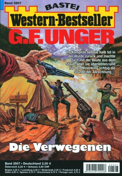 Western-Bestseller G.F. Unger 2507