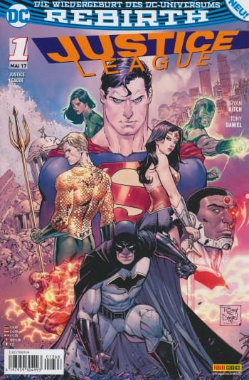 Justice League (2017) 01 Variant TV Digital