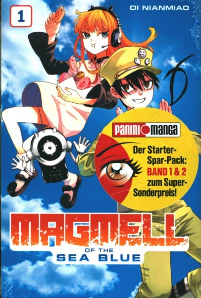 Magmell of the Sea Blue Starter-Spar-Pack (Band 1 + 2)