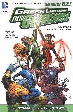 Green Lantern New Guardians (2011) Vol.1 The Ring Bearer SC