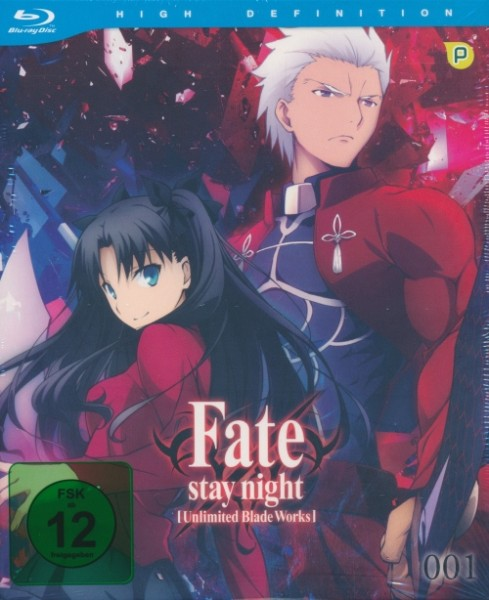 Fate Stay Night Vol. 1 Blu-ray