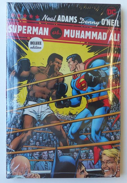 Superman vs Muhammad Ali Deluxe Edition HC