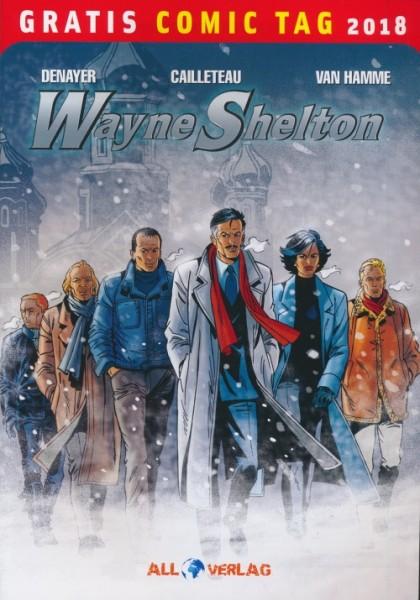 Gratis Comic Tag 2018: Wayne Shelton