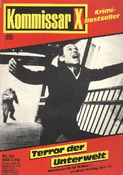 Kommissar X Krimi Bestseller (PMS) Nr. 2-44