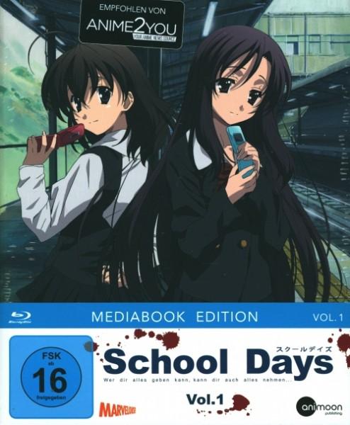 School Days Vol. 1 Blu-ray Mediabook Edition im Schuber