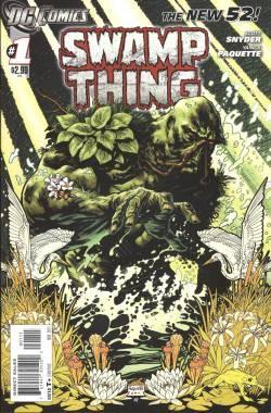 Swamp Thing (2011) 1st Printing 1