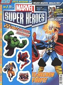 Marvel SuperHeroes Magazin 1