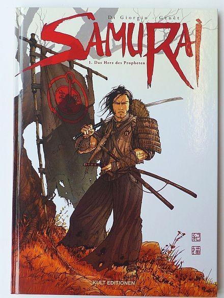 Samurai (Kult, B.) Nr. 1-8 zus. (Z1)