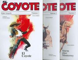 El Coyote Extra (Nachdruck der 50er Jahre Serie) Nr. 1-5 kpl. (neu)