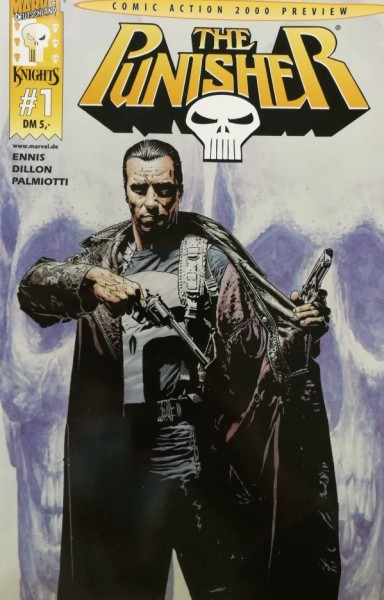 Punisher (Panini, Gb.) Vol.1 Variant Nr. 1 (Comic Action 2000 Preview)