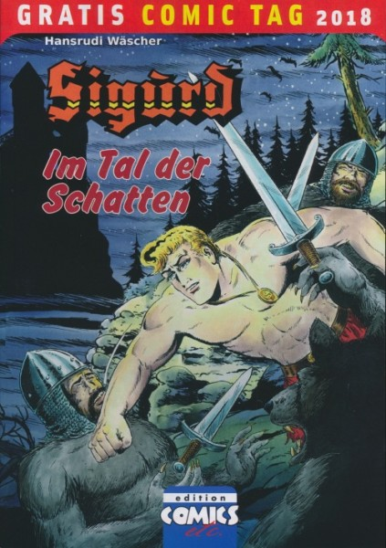 Gratis Comic Tag 2018: Sigurd