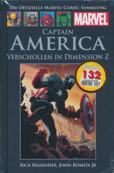 Offizielle Marvel-Comic-Sammlung 132: Captain America- Verschollen (84)