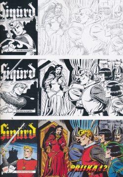 Ingraban Ewald Sigurd Piccolo 3 Serie 482-484