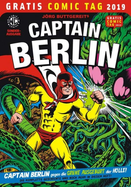 Gratis Comic Tag 2019: Captain Berlin