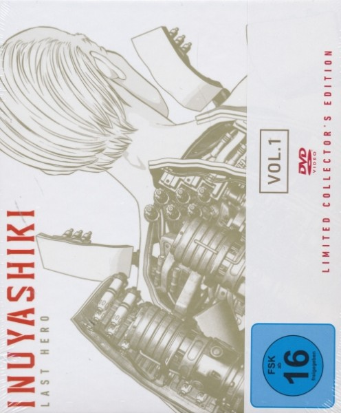 Inuyashiki - Last Hero 1 Limited Collectors Edition DVD