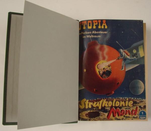 Utopia (Pabel) gebunden Nr. 1-15 zus. (Z1)