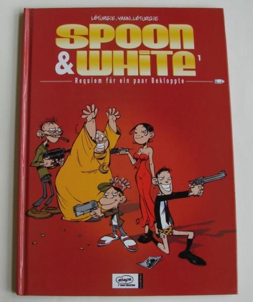 Spoon & White (Ehapa/Finix, B.) Nr. 1-8 kpl. (Z1-2)