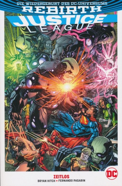 Justice League PB Rebirth (2017) 3 SC