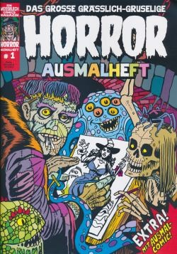Horror Ausmalheft 01