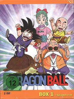Dragon Ball TV-Serie DVD-Box 1