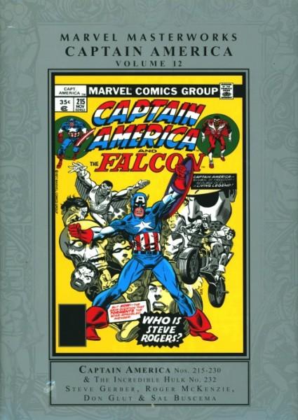 US: Marvel Masterworks Captain America Vol 12 HC