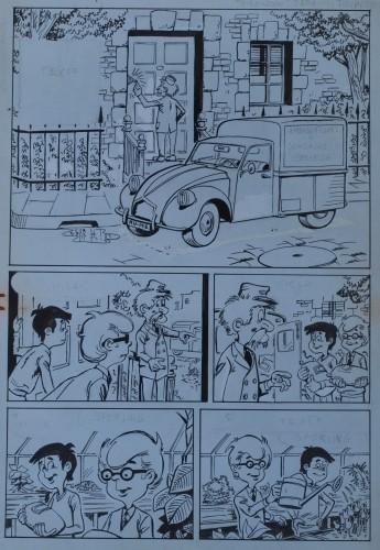 Originalzeichnung (0293) Kiko-2000 6 Seiten zus.