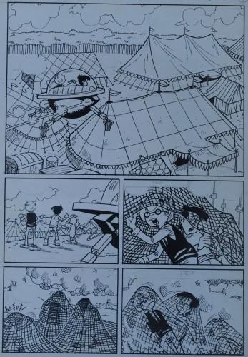 Originalzeichnung (0305) Kiko-2000 8 Seiten zus.