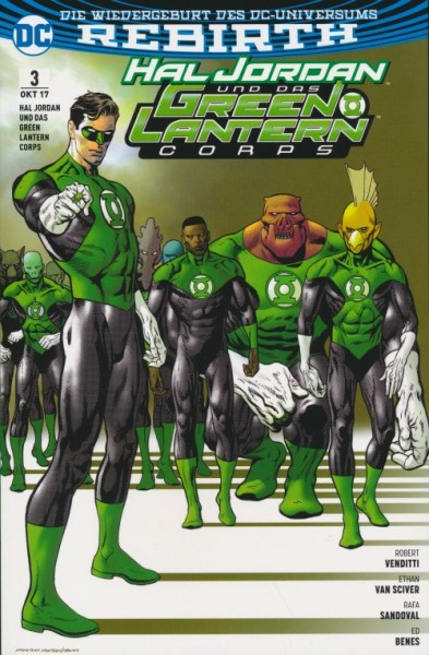 Hal Jordan und das Green Lantern Corps 3