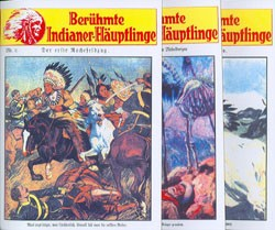 Berühmte Indianer-Häuptlinge (Reprints, Vorkrieg) Nr. 1-35 zus. (neu)