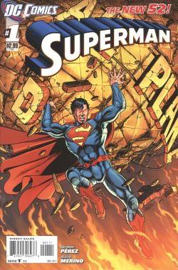 Superman (2011) 1st Printing 1